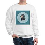 Longhaired Dachshund Sweatshirt