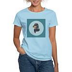 Longhaired Dachshund Women's Light T-Shirt