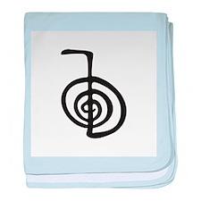 Reiki Power Symbol - cho ku rei baby blanket