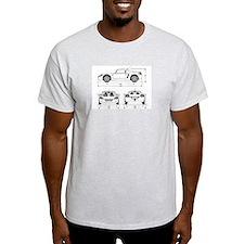 png_t_dimensions_no_border T-Shirt