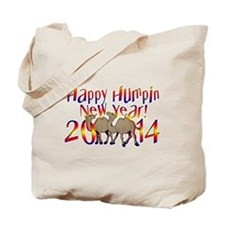 2014 Happy Humpday New Year Tote Bag