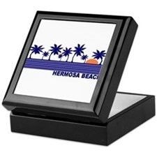 Hermosa Beach, California Keepsake Box