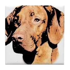 Vizsla Hungarian Pointer Tile Coaster