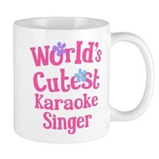 Worlds Cutest Karaoke Singer Mug