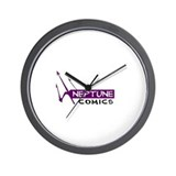 Unique Neptune Wall Clock