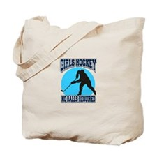 Girl's Hockey Tote Bag