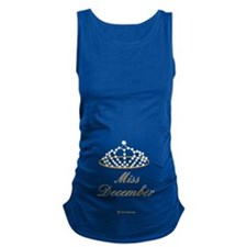 Miss December Maternity Tank Top