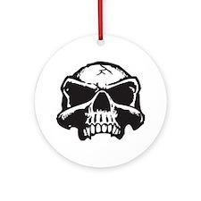 Vampire Skull Ornament (Round)
