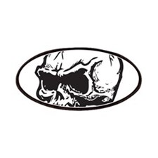 Vampire Skull Patches
