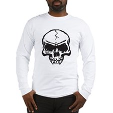 Vampire Skull Long Sleeve T-Shirt