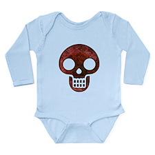 Textured Skull Body Suit