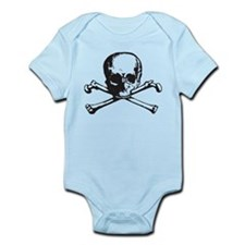 Skull and Bones Body Suit