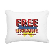 Free Ukraine Rectangular Canvas Pillow