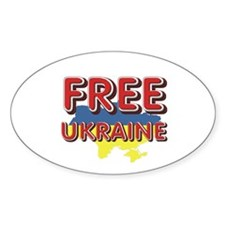 Free Ukraine Decal