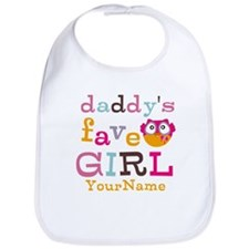 Daddys Favorite Girl Personalized Bib