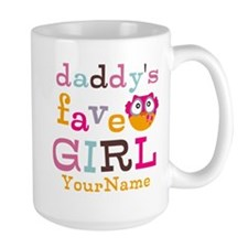 Daddys Favorite Girl Personalized Coffee Mug