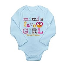 Mimis Favorite Girl - Personalized Baby Suit