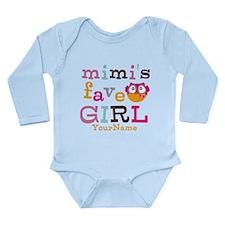 Mimis Favorite Girl - Personalized Onesie Romper Suit