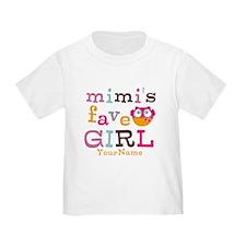 Mimis Favorite Girl - Personalized T