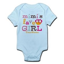 Mimis Favorite Girl - Personalized Infant Bodysuit