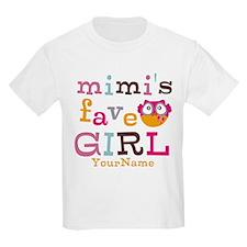 Mimis Favorite Girl - Personalized T-Shirt