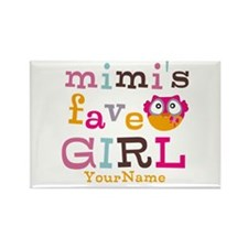 Mimis Favorite Girl - Personalized Rectangle Magne