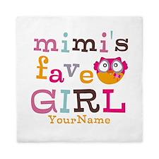 Mimis Favorite Girl - Personalized Queen Duvet