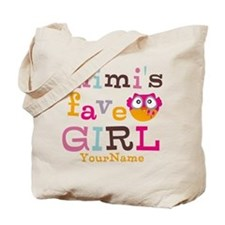 Mimis Favorite Girl - Personalized Tote Bag