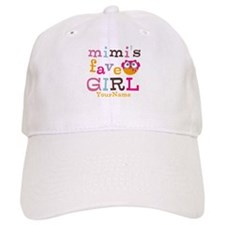 Mimis Favorite Girl - Personalized Baseball Cap