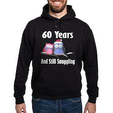 60th Anniversary Snuggling Owls Hoodie