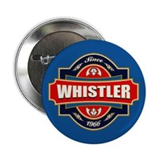 "Whistler Old Label 2.25"" Button"