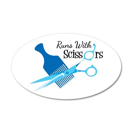 Runs with Scissors Wall Decal