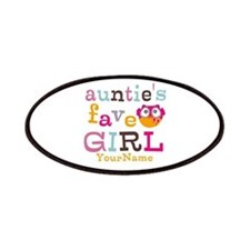 Personalized Aunties Favorite Girl Patches