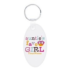 Personalized Aunties Favorite Girl Keychains
