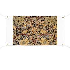 Vintage Morris Tapestry Banner