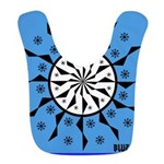OYOOS Blue Moon design Bib