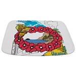 OYOOS Travel Vacation design Bathmat