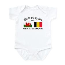Welsh-Belgian Infant Bodysuit