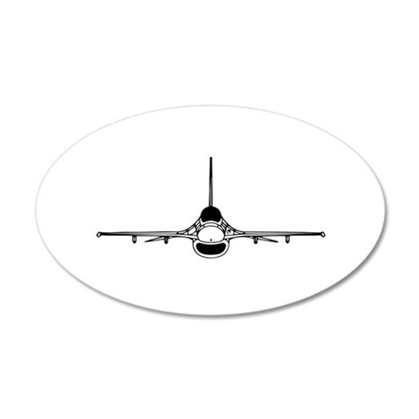 F-16 Fighting Falcon (front) Wall Decal