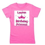 birthdayprincess_1st_LAUREN.png Girl's Tee