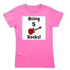 being5rocks.png Girl's Tee