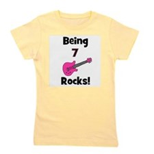 being7rocks_pink.png Girl's Tee