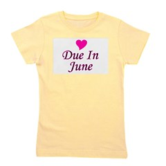 pinkheart_duein_june.png Girl's Tee