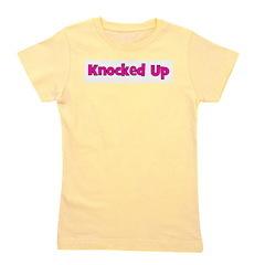 knockedup.png Girl's Tee