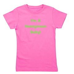 imahoneymoonbaby_green_TR.png Girl's Tee