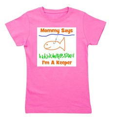 imakeeper_mommysays.png Girl's Tee
