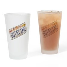 Outatime Back to the Future Drinking Glass