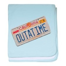 Outatime Back to the Future baby blanket