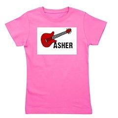 guitar_asher.png Girl's Tee