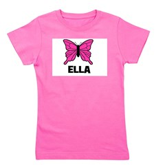 butterfly_ELLA.jpg Girl's Tee